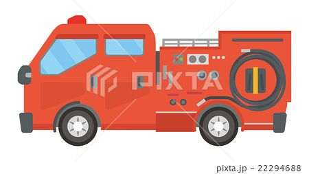 最も気に入った 消防 車 イラスト 無料 車 イラスト 無料 消防車