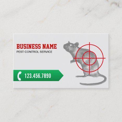 Exterminator Professional Pest Control Business Card Zazzle Com Pest Control Exterminator Card Factory