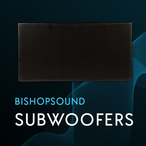 BishopSound Subwoofers