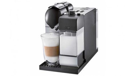 Delonghi Nespresso Lattissima Plus Silver Coffee Machine
