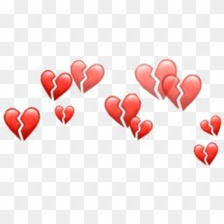 Heart Emojis Png Heart Emoji Crown Png Transparent Png Pink Heart Emoji Emoji Stickers Film Texture
