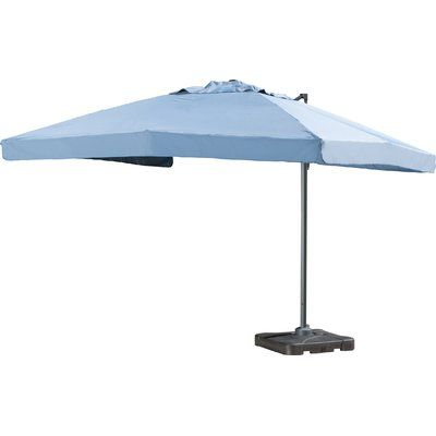 Sol 72 Outdoor Bondi 10 Square Cantilever Umbrella Cantilever Umbrella Patio Umbrellas Patio Umbrella Stand