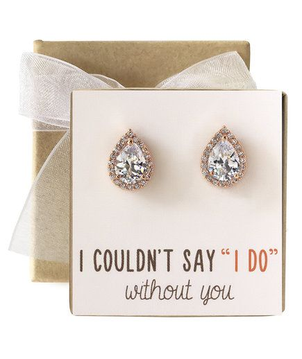 10 Best Bridesmaid Earrings And Bridal Jewelry From Amazon Bridesmaid Earrings Studs Bridesmaid Gifts Jewelry Wedding Bridesmaid Jewelry