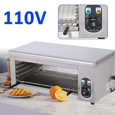 Details About Cheese Melter Electric Salamander Broiler Restaurant