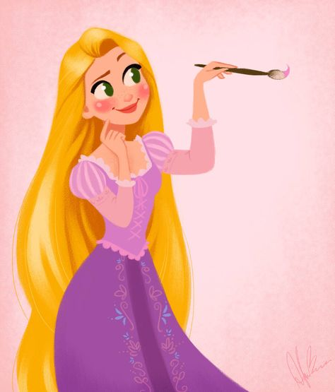 Rapunzel - New Year, New Dream by DylanBonner
