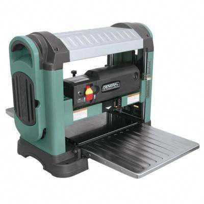 13 in  Heavy Duty Corded Bench Top Planer with Helical
