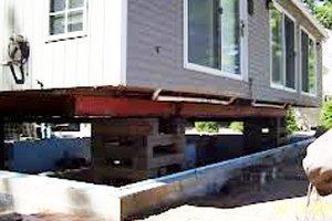 Raise A Foundation Raised House House Foundation House Lift