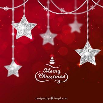 Roter Hintergrund Weihnachten