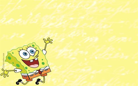 Color cute SpongeBob PPT background pictures_Best PowerPoint templates and Google Slides for free download
