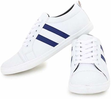 Shoes Bank White Sneaker For Men's/Boy's Sneakers For Men