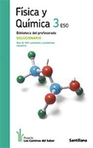 Solucionario Fisica Y Quimica 3 Eso Santillana En Pdf Libros Gratis Química Física Experimentos De Quimica