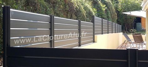 Epingle Par Julie Serra Sur Cloture En 2020 Cloture Aluminium Brise Vue Terrasse Brise Vue
