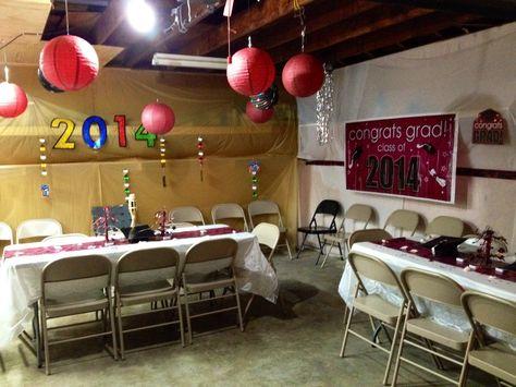 2 Car Garage Dinner Party