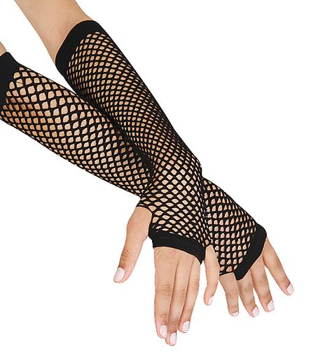 2016 New Arrival Punk Women Gloves Goth Lady Disco Dance Costume Lace Fingerless Mesh Fishnet Gloves Luvas De Inverno Teen Fashion Outfits, Edgy Outfits, Cute Outfits, 80s Fashion, Party Fashion, Style Fashion, Long Gloves, Black Gloves, Mode Emo