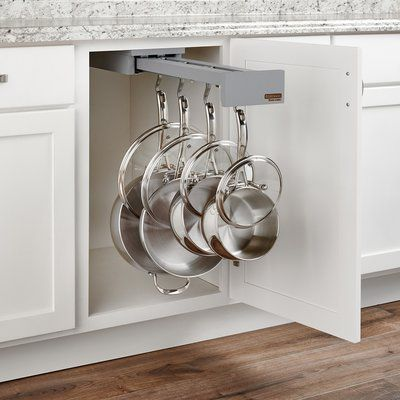 Rev A Shelf Cookware Organizer Hook Finish Gray In 2020 Rev A