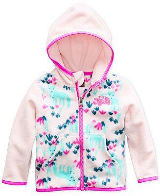 0557c954f Shop The North Face Baby Girls Glacier Zip-Up Hoodie online at Macys ...