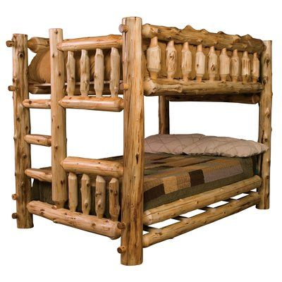 Loon Peak Lytle Bunk Bed With Right Side Ladder Size Full Over