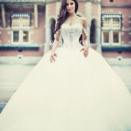 vestidos de novia estilo princesa 2016 | princesas | wedding dresses