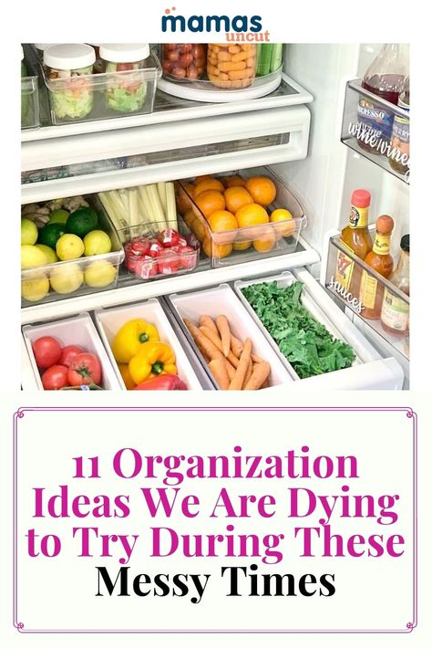 Getting organized can be fun and easy, and the results usually speak for themselves. Try these 11 organization tips to help de-clutter and beautify your life. #HomeOranization #Messes