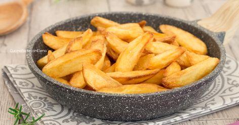 Segreti, trucchi e consigli su come preparare delle patate fritte perfette che non assorbono olio e rimangono asciutte, patatine davvero favolose!