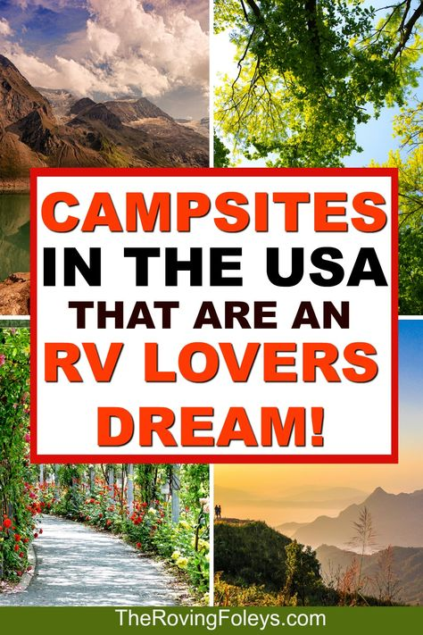From Arizona to Washington, we've put together a list of the top rated RV campgrounds in the United States to add to your bucket list for your next road trip. Finding good RV campgrounds is… Camping Must Haves, Camping Hacks, Travel Trailer Camping, Camping Spots, Rv Camping, Camping Ideas, Camping Supplies, Camping Checklist, Camping Activities