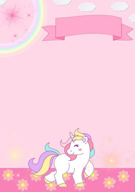 Invitation Unicorn Birthday Invitations Party