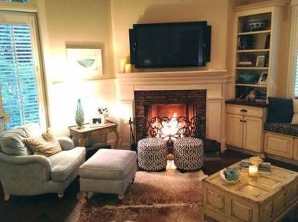 52 Ideas For Living Room Layout With Corner Tv Tv Placement Corner Fireplace Living Room Livingroom Layout Furniture Placement Living Room
