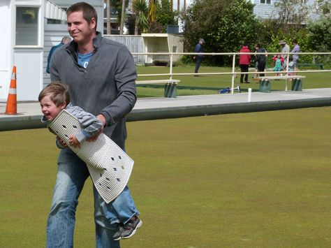 Youth find the fun in bowls