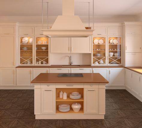 moderne landhausküchen mit kochinsel - Google-Suche | küchen ... | {Moderne landhausküchen 5}