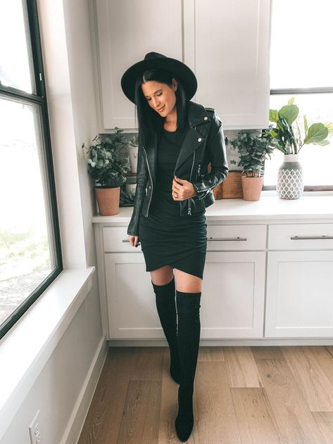 How to Style an All Black Outfit 3 Different Ways | fashion | Dressed to Kill