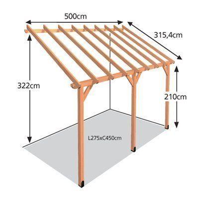 16 Porche Madera Leroy Merlin 1000 Pergola Designs Pergola Carport Pergola With Roof