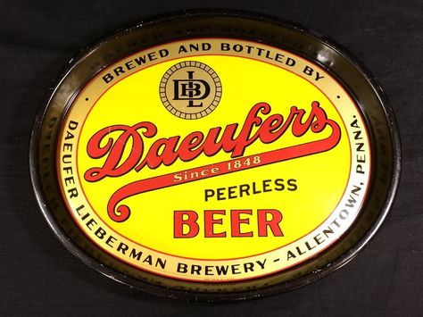 1930s Daeufer/'s BOCK Beer Label Tavern Trove Allentown Pennsylvania