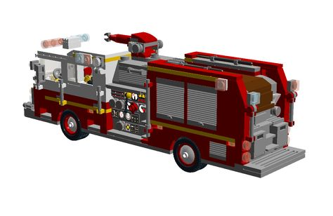 17113 Us Fire Pumper 2 Png 1254 817 Lego Cars Fire Trucks