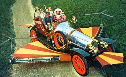 Chitty Chitty Bang Bang, Eon Productions, 1968. Starring Dick Van DykeFashion @nixieclothing #nixiedjubilee