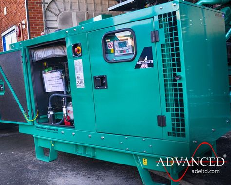 OFFICE BACKUP  This #Cummins 22 kVA Diesel Generator will provide backup power to a small constructions company's head office in Milton Keynes. This will ensure they remain up and running in the event of a mains failure  #DieselGenerator #PowerGeneration #Backup