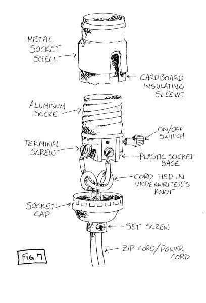 Wiring A Lamp Plug Diy Lamp Lamp Socket Diy Lighting