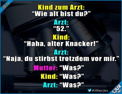 Leg dich nie mit einem Arzt an. #schwarzerHumor #nurSpaß #Spass #lustiges #Humor #Witz