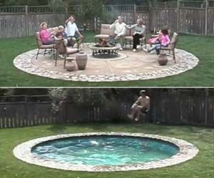 If you're one of those people who has always wanted a backyard pool but never had the space, then the hidden patio pool will make all your dreams come true. It'll turn your small and waterless yard into an oasis of summertime fun. Typically, homes with pools have sprawling backyards equipped to handle the big…