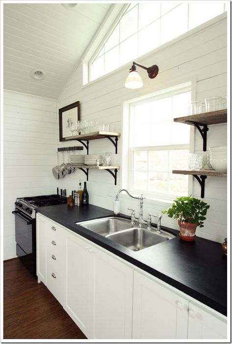 faux soapstone counters