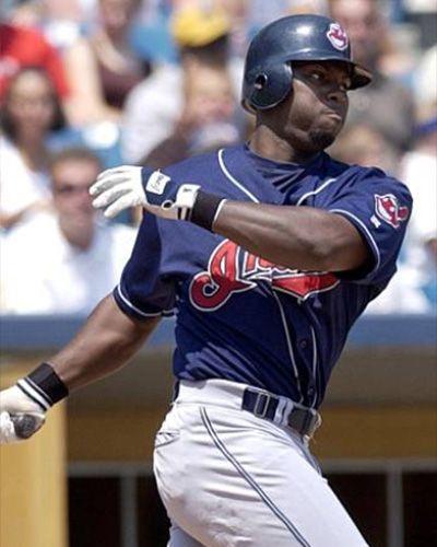 Milton Bradley Cleveland Indians Cleveland Baseball Indians