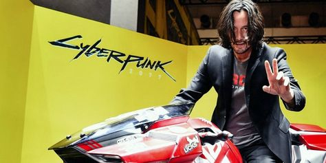 Keanu Reeves Rides Cyberpunk 2077 Kusanagi At TGS 2019 -- Keanu Reeves stopped by the Cyberpunk 2077 booth at Tokyo Games Show 2019 yesterday and posed riding the game's custom Yaiba Kusanagi motorcycle. Earlier this year at E3 Keanu Reeves and CD Projekt Red surprised pretty much everyone when they released a trailer starring the Bill & Ted and The Matrix actor as a non-playable character in the upcoming first-person RPG Cyberpunk 2077, and […]  - #trai