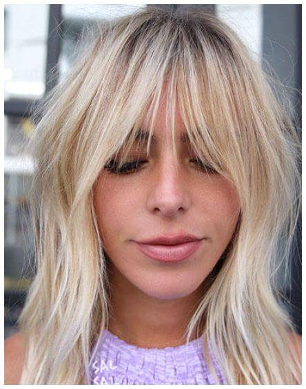28 Best Short Haircuts With Curtain Bangs In 2021 Short Hair With Bangs Blonde Hair With Bangs Bottle Blonde Hair