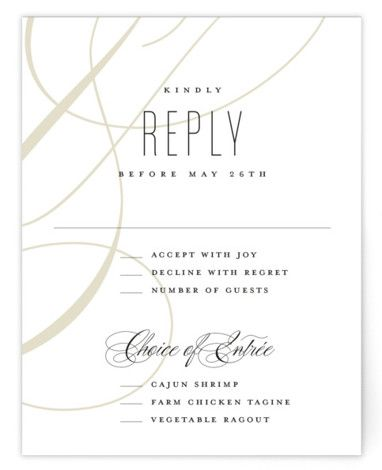 Today Always Customizable Rsvp Cards In Orange By Stacey Meacham In 2021 Rsvp Card Rsvp Wedding Invitations