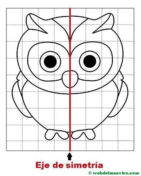 Simetria Para Ninos De Primaria Web Del Maestro Material Didactico Primaria Ejercicios De Simetria Actividades De Simetria