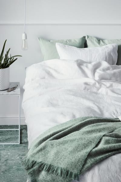 Washed Linen Duvet Cover Set White Home All H M Us Washed Linen Duvet Cover Bed Duvet Covers Duvet Cover Sets