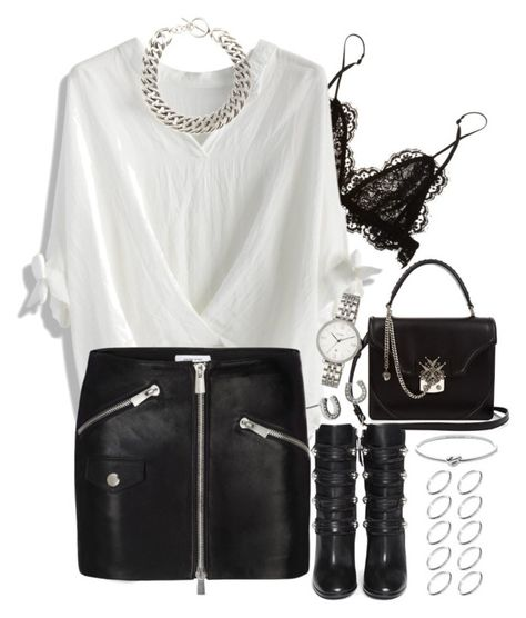 """""""Untitled #1015"""" by manoella-f on Polyvore featuring Isabel Marant, Chicwish, Anine Bing, Yves Saint Laurent, Alexander McQueen, Michael Kors, ASOS, Betsey Johnson and FOSSIL"""