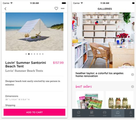 Domino go app allows you to explore everything about magazine get inspired shop browse design galleries and access   print digital also the must have apps for every decophile inspiration board rh pinterest