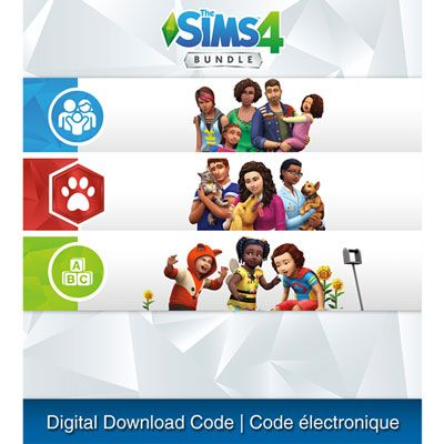The Sims 4 Bundle Ps4 Cats Dogs Parenthood Toddler Stuff