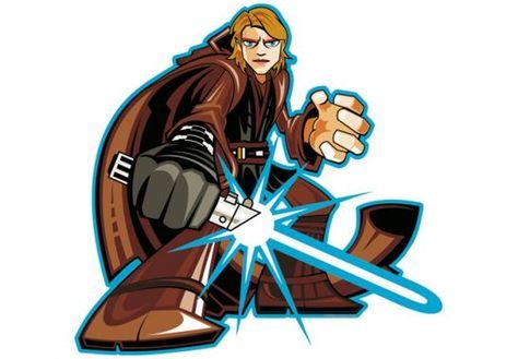 Perfect Wandtattoo Anakin Skywalker Comic Style Clipart Star Wars Everything Pinterest Anakin skywalker and Comic