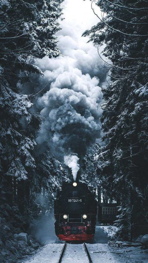 Winter Express iPhone Wallpaper - iPhone Wallpapers